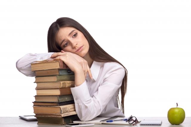 勉強を途中で諦める